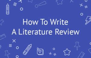 How to write review of literature for research paper